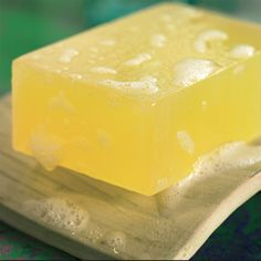 Aloe vera soap is anti-infective, anti-inflammatory and soothing on cuts and burns—and very easy to make with this herbal soap recipe.