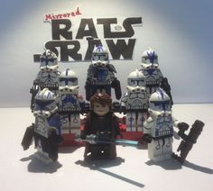 Lego Star Wars minifigure Trooper - Clone Custom General Skywalker