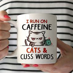 Caffeine, cats and cuss words