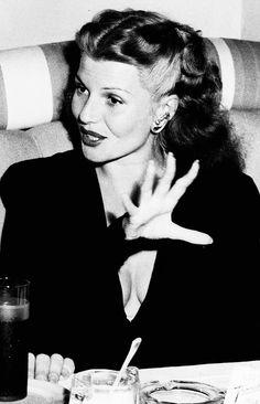 hair goals - Rita Hayworth