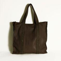 Women  bag. Casual leather all by ElenaVandelliBags Brown 4d38ed851823f