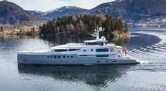 60 m. Steel Yacht EVENT by Amels Holland  http://www.adayacht.com/news/Yacht-EVENT-by-Amels-199-Limited-Editions.html