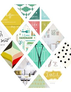 Me faire un template photoshop pour des moodboards !!  rebranding by @Jordan Bromley Bromley Brantley / create like crazy
