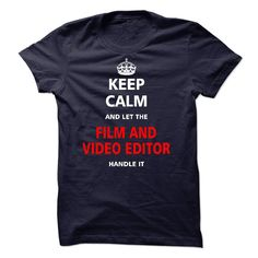 (Tshirt Deal Today) Let the FILM AND VIDEO EDITOR [Tshirt design] Hoodies, Tee Shirts