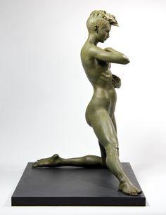 Brian Booth Craig Briana  2015 Bronze+(patina+variable)
