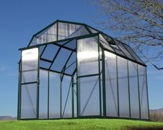 The Grandio Elite Greenhouse is the best greenhouse for colder climates, it features 10mm polycarbonate panels for the best insulation. It is offered in an 8'x8' or 8'x12'.