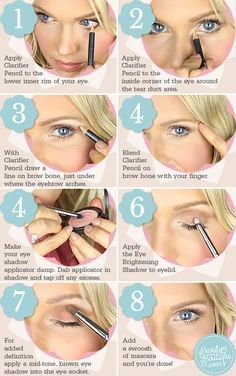hacks makeup tricks ideas Three custom Color Bright Eyed Duo, Beauty and the Boutique Beauty Routine Schedule, Beauty Routines, Makeup Artist Tips, Makeup Tips, Bare Minerals Foundation, Makeup Over 40, Makeup For Older Women, Beauty Make Up, Daily Beauty