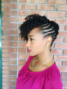 Taasha // 4B Natural Hair Style Icon | Black Girl with Long Hair