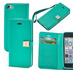 Case for iphone 5C, By Ailun,Wallet Case,PU Leather Case,Cut,Credit Card Holder,Flip Cover Skin,(Green) AILUN http://www.amazon.com/dp/B00MVNPDVU/ref=cm_sw_r_pi_dp_TxEUub021N495