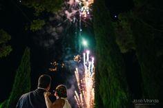 Fuegos para el gran día. Granada, Concert, Wedding, Cordoba, Sevilla, Fireworks, Creative Photography, Night, Gold