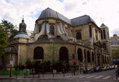 Saint-Nicolas-du-Chardonnet Rue des Bernardins, rue monge, boul st germain