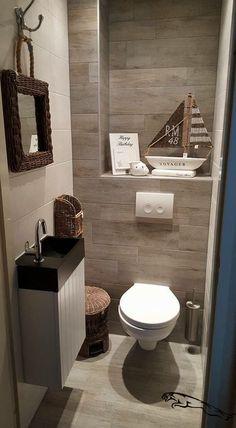 and Creative Bathroom Decoration - 30 Ideas for the Modern Bathroom - . - -Simple and Creative Bathroom Decoration - 30 Ideas for the Modern Bathroom - . Guest Bathrooms, Downstairs Bathroom, Laundry In Bathroom, Small Bathroom, Bathroom Ideas, Bathroom Things, Bathroom Grey, Shower Bathroom, Guest Rooms