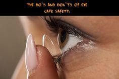 Don't Risk Damaging your Eyes with Decorative Contact Lenses  #sponsored #MC