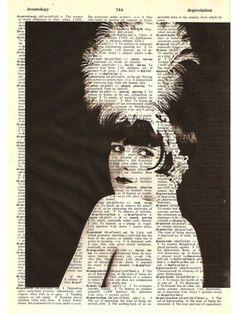 Louise Brooks dictionary art