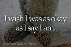 OMG~That's Totally ME!! I'd Like To Consider MySelf NOT Fake What So Ever, But I Most Certainly Can Put Up A BIG & BELIEVING Smile For EveryOne Too See....Instead Of The Frown That Im Feeling Inside!!!