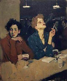 Liepke (American, b. Figure Painting, Painting & Drawing, Portrait Art, Portraits, Pencil Portrait, Figurative Kunst, Malcolm Liepke, Wow Art, Edgar Degas