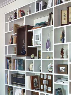 Библиотека в интерьере - Дизайн интерьеров | Идеи вашего дома | Lodgers Shelving, Bookcase, Studio, Drawings, Design, Home Decor, Wardrobe Closet, Shelves, Decoration Home