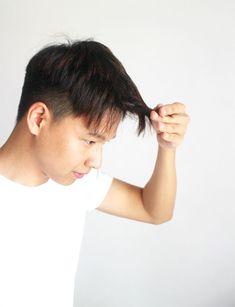 Men Hairstyle Fringe