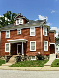 The neighborhood of Garwyn Oaks in Northwest Baltimore!