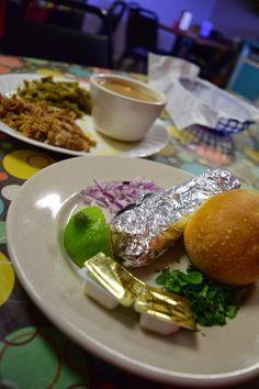 Mexican Pork Roast at Kay's Café in Bastrop, Texas. #visitlostpines #Bastrop #Texas #eatlocal #lunch #café #porkroast