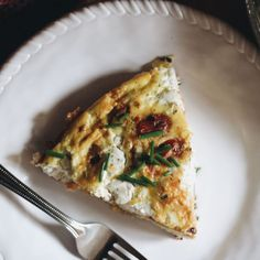 chive herb goat cheese and tomato frittata chive herb goat cheese and ...