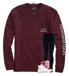 """"""""""" by preppy-southerngirl ❤ liked on Polyvore featuring Vineyard Vines, NIKE, philosophy and Converse"""