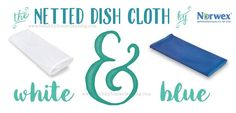 Norwex Netted Dish Cloth