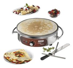 Waring Commercial WSC160X Heavy-Duty Electric Crepe Maker, 16', Stainless Steel -- You can find out more details at the link of the image.
