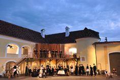 Einer der schönsten und romantischsten Plätze des Südburgenlandes ist das Schloss Tabor in Neuhaus am Klausenbach.  Es ist ca 45 Autominuten vom Thermenhotel PuchasPLUS**** entfernt. Hotels, Mansions, House Styles, Romantic Places, Hotel Bedrooms, Road Trip Destinations, Viajes, Nice Asses, Manor Houses