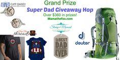 Super Dad Giveaway Hop