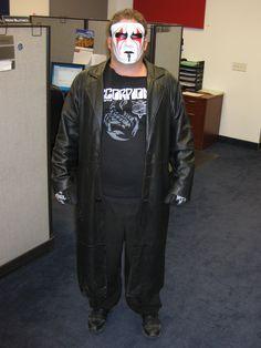 company costume contest halloween 2014 pro wrestler sting