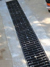 Nds spee d decorative plastic drainage grates decorative for Residential trench drain systems