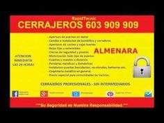 Cerrajeros #Almenara 603 909 909