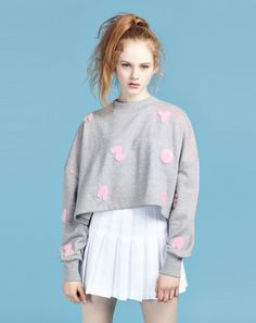 Lazy Oaf Letter Sweatshirt #fashion #style #outfit