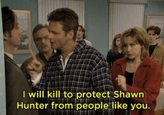 When Shawn joined a cult, and Alan stood up to the leader.