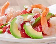 The Ultimate Prawn Cocktail Raw Food Recipes, Veggie Recipes, Healthy Recipes, Vegan Food, California Salad, Prawn Cocktail, Shrimp Avocado Salad, Health Eating, Recipes