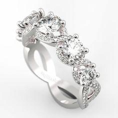 Beautiful custom diamond eternity ring...   Would you wear it?   www.brilliance.com/jewelry/custom