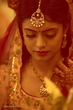 """Photo from album """"Wedding photography"""" posted by photographer Vinu Paravoor Photography Photography Poses Women, Bridal Photography, Lehenga Wedding, Indian Bridal Fashion, Lehenga Saree, Wedding Preparation, Indian Dresses, Bridal Style, Real Weddings"""