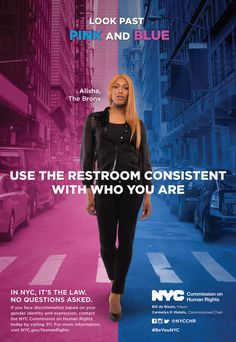 These New NYC Subway Ads Will Promote Transgender People's Right To Use Restrooms - BuzzFeed News