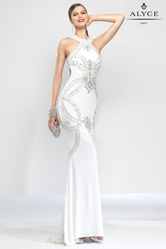 A x paris long dresses halter