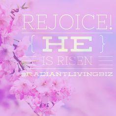Make a joyful noise this morning!  #radiantliving #happyeaster #heisrisen