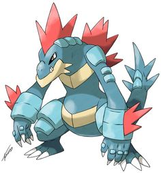 This would be a nifty design for Mega Feraligatr...