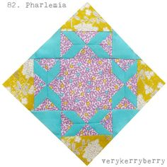 The Farmer's Wife 1930s Quilt Along, blocks 81 and 82, Peony and Pharlemia | verykerryberry | Bloglovin'