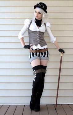 Kato - Steampunk Girl!