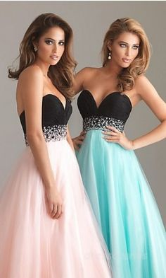 me and my best friend are gonna have to wear these matching dresses to prom!