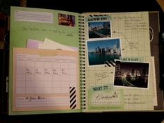Travel Smash Book...lots of books to look at for ideas
