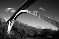Natchez Trace Parkway Bridge--not exactly home, but close! I miss driving along the Trace in the spring.