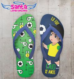 Chinelo Festa Infantil Copa do Mundo de Futebol COD 5292 Flip Flops, Soccer Party Favors, Soccer Birthday Parties, Soccer Party, 8 Year Anniversary, Infant Girls, Slipper, Reef Flip Flops