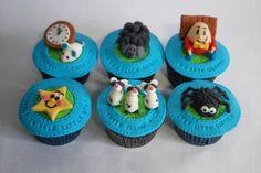 Nursery Rhymes Cake and Cupcakes - by MidnightSnacks @ CakesDecor.com - cake decorating website