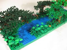 Lego Jungle River by Aaron #lego #brickadelics #river #jungle #awesome